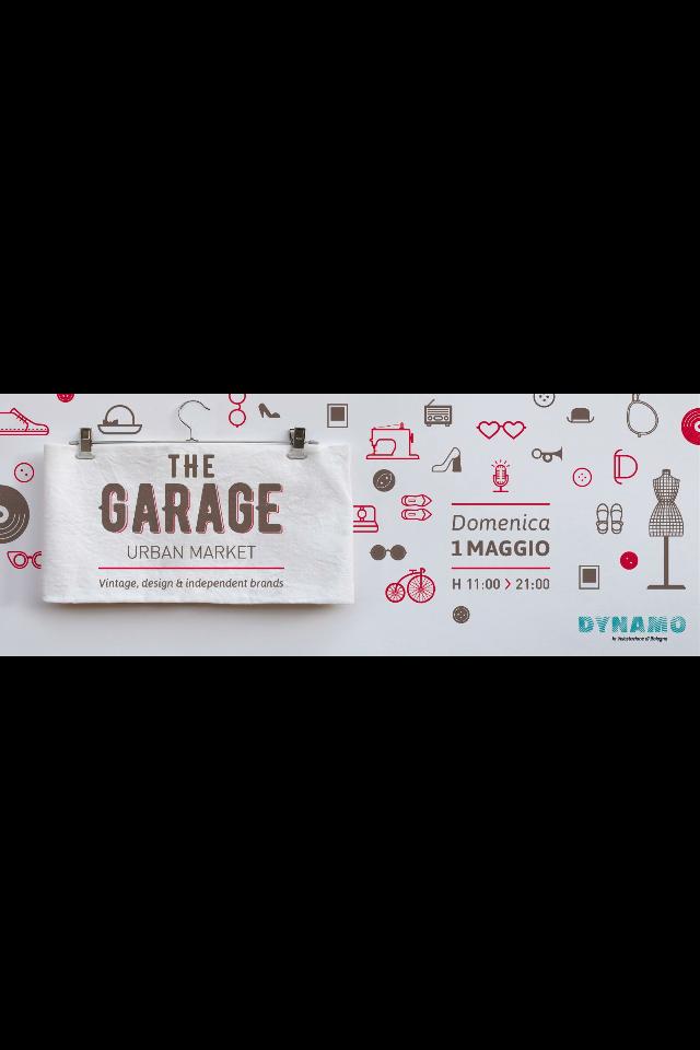 THE GARAGE-URBAN MARKET- Domenica 1 Maggio